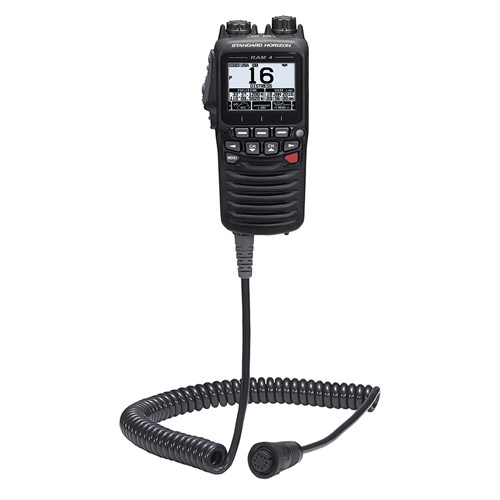 standard horizon wired remote access microphone