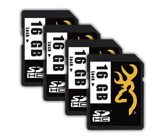 browning sd card 16 gb