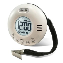 <ul><li>Alarm Clock With Bed Shaker</li>