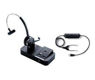 jabra pro 9450 flex mic with ehs 14201 32 for nortel