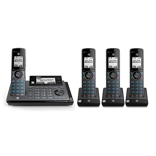 atnt 4 handset cordeless phone clp99487