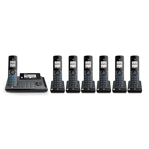 atnt 7 handset cordless phones clp99787