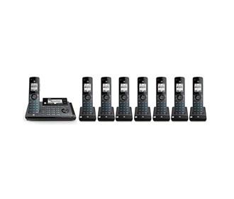 atnt 8 handset cordeless phone clp99887
