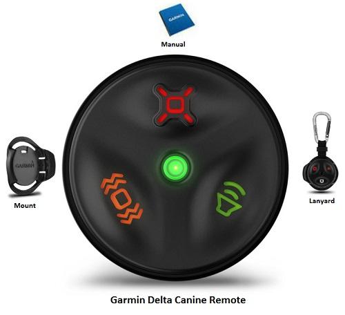 garmin delta canine remote