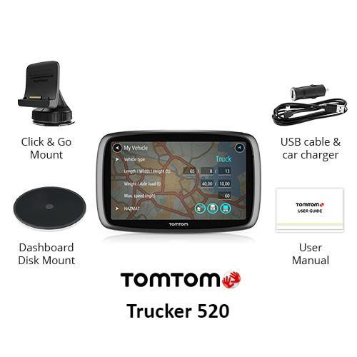 tomtom trucker 520