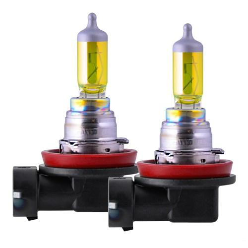 piaa h16 solar yellow light bulb 2 pack