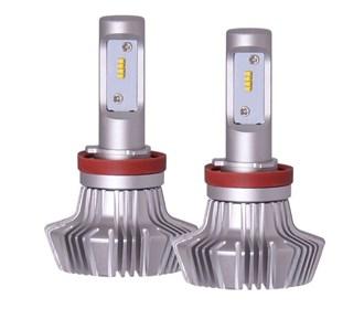 piaa h8 platinum white led bulb kit 2 pack