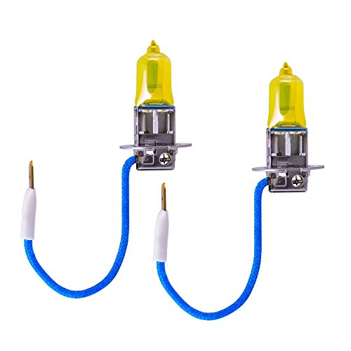 piaa h3 solar yellow light bulb 2 pack