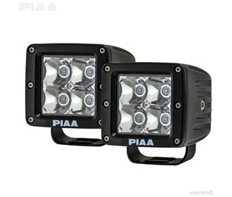 piaa quad series spot beam led cube lights