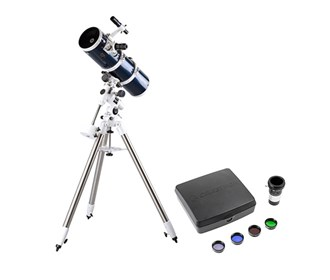 celestron omni xlt 150 newtonian telescope deluxe imaging