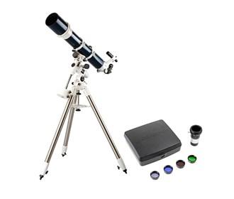 celestron omni xlt 120 refractor telescope deluxe imaging
