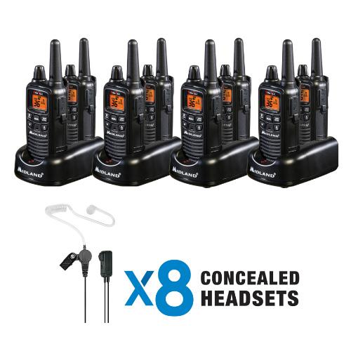 midland lxt600bbx4 business radio bundle