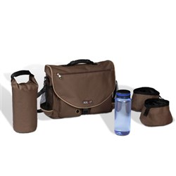 "<ul> <li><span class=""blackbold"">Travel Kit</span></li> <li><span class=""bluebold"">Zippered External Pockets</span></li> <li>Configurable Interior Section</li> <li>Comfort-Grip Rubberized Handle</li> <li><span class=""redbold"">BPA-Free Unbreakable Water Bottle</span></li> <li>Adjustable Shoulder Strap</li> <li>Travel Bowls of 8 Cups Holding Capacity</li> </ul>"