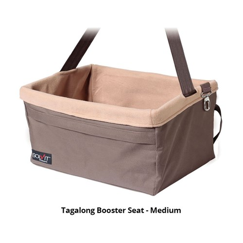 petsafe tagalong booster seat medium