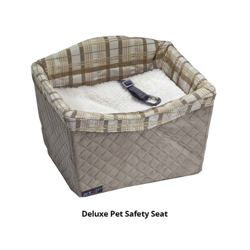 petsafe deluxe on seat booster