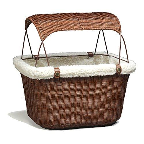 petsafe tagalong wicker bicycle basket