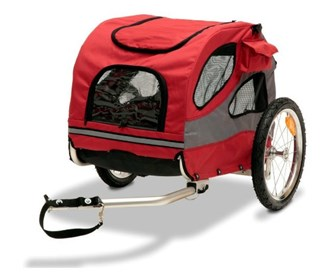 petsafe bicycle trailer aluminium medium