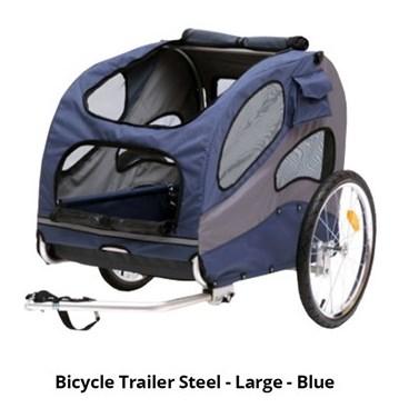 petsafe bicycle trailer aluminium large