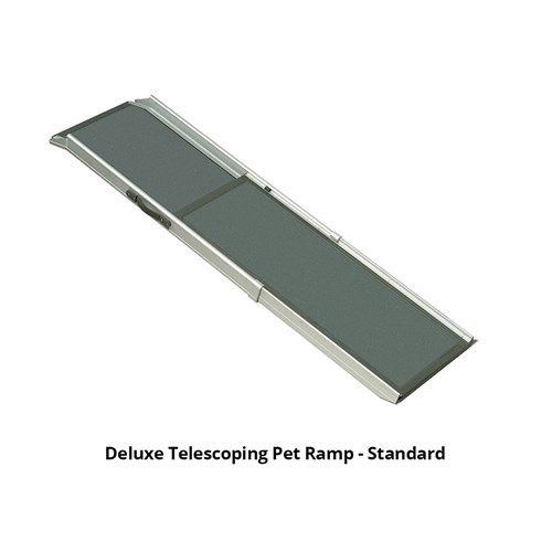 solvit deluxe telescoping pet ramp standard