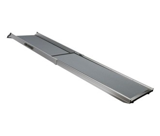 solvit deluxe telescoping pet ramp extra large
