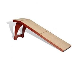 solvit bedside ramp wood