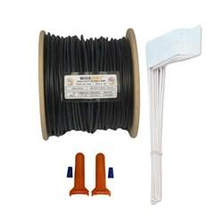 """<ul>   <li><span class=""""blackbold"""">Wire Kit</span></li>   <li>500' 16G Wire, 50 Flags &amp; 2 Splices</li>   <li>Heavy Duty &amp; Eco-friendly</li>   <li>Corrosion Resistant</li>   <li>RoHS Compliant</li> </ul>"""