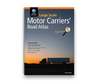 rand mcnally 2019 large scale motor carriers road atlas