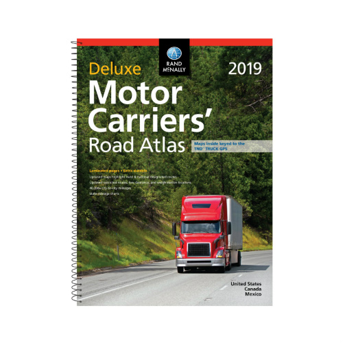rand mcnally 2019 deluxe motor carriers road atlas