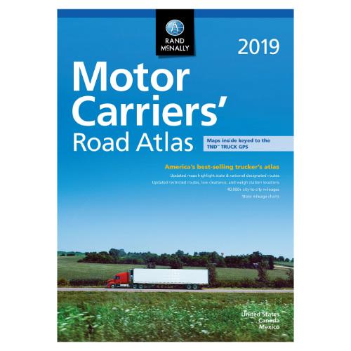 rand mcnally 2019 motor carriers road atlas