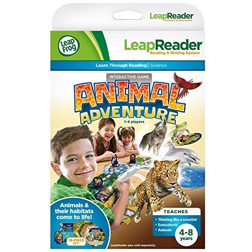 leapreader animal adventure quest by vtech