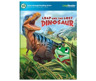 leapreader book leap and the lost dinosaur by vtech