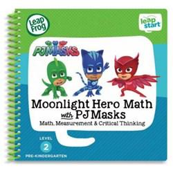 """Product # 80-480100 <br /> <ul> <li><span class=""""bluebold"""">Teaches 16 Pre-kindergarten Math</span></li> <li>30+ Replayable Activities</li> <li><span class=""""redbold"""">Popular PJ Masks Characters</span></li>  <li>Plus 25+ Interactive Rewards Stickers</li> </ul>"""