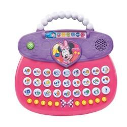 """Product # 80-182600 <br/> <ul> <li><span class=""""bluebold"""">Learning Toy</span></li> <li>Fashion Purse</li> <li><span class=""""redbold"""">Different Learning Activities</span></li> <li>Minnie Mouse's Voice</li> <li>26 Letter &amp; 10 Number Buttons</li> <li>Carrying Handle</li> <li>Automatic Shut-Off</li> <li>Requires 2 AA Batteries</li> </ul>"""