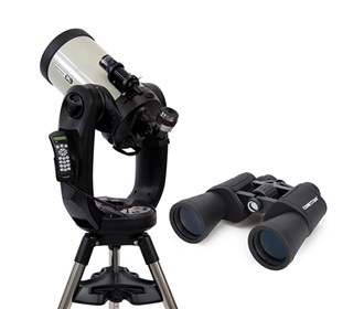 celestron cpc deluxe 925 hd with binocular