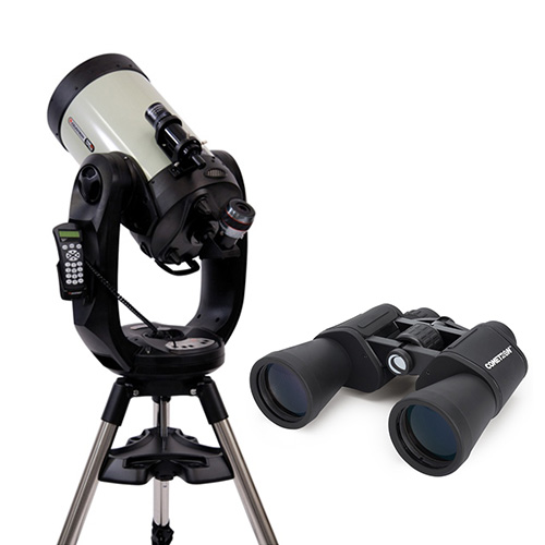 celestron cpc deluxe 1100 hd with binocular