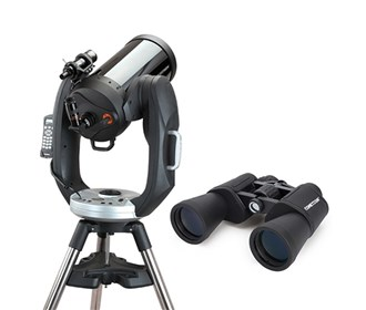 celestron cpc 925 gps with binocular