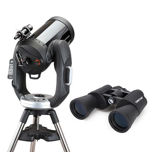 celestron cpc 1100 gps with binocular