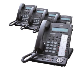 panasonic kx t7633 black 5 pack