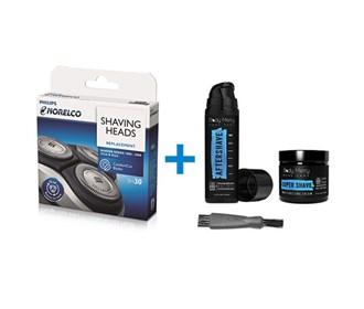 norelco sh30 shaving bundle