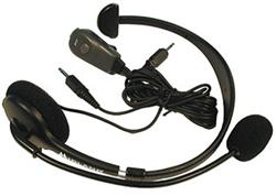 """<ul> <li><span class=""""blackbold"""">Headset Speaker w/ Boom Microphone</span></li> <li>Hands-free Operation</li> <li>Adjustable Headband w/ Cushioned Earpiece</li> <li><span class=""""redbold"""">Push-to-talk switch</span></li> <li>Clear & Reliable Communication</li> </ul>"""