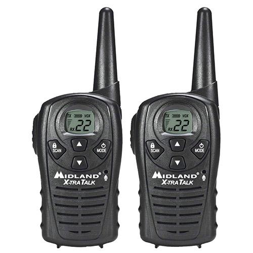 midland xtra talk lxt118 2 radios
