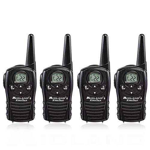 midland xtra talk lxt118 4 radios