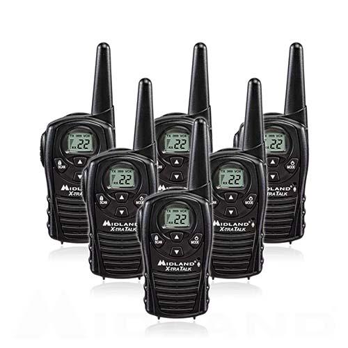 midland xtra talk lxt118 6 radios