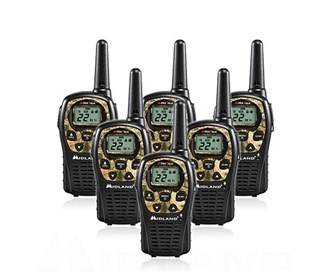 midland xtra talk lxt535vp3 6 radios
