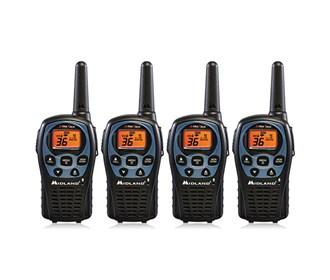 midland xtra talk lxt560vp3 4 radios