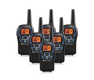 midland xtra talk lxt560vp3 6 radios