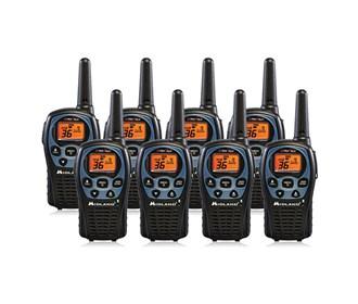 midland xtra talk lxt560vp3 8 radios