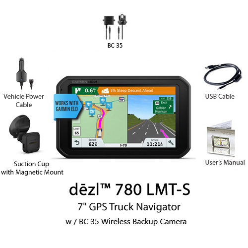 garmin dezl 780 lmt s bundle