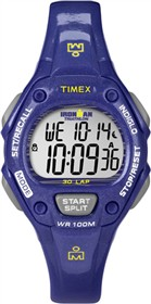 timex ironman 30 lap midsize glimmer purple