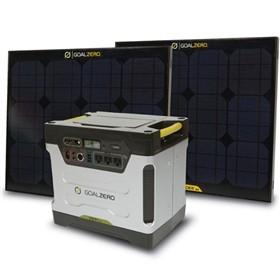 goal zero yet 1250 solar generator kit